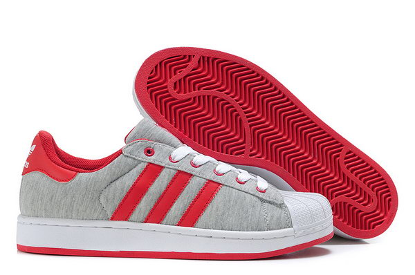 Adidas Superstar Ii Womens & Mens (unisex) Grey Red Best Price